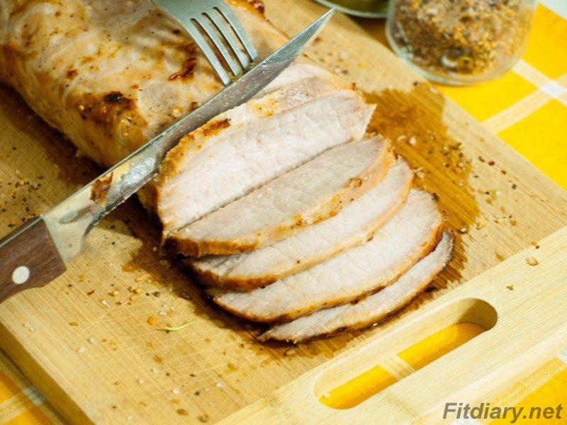 Roast Pork Loin in Citrus Marinade