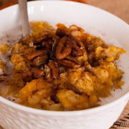 Instant Pot Overnight Pumpkin Oatmeal