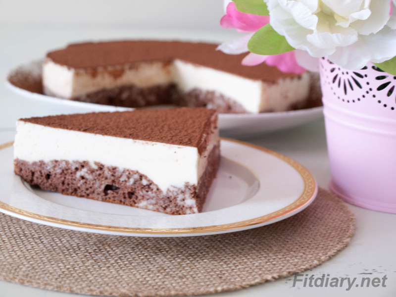 Chocolate Sponge Mousse Cake