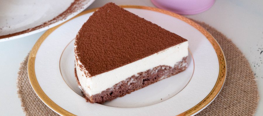 Chocolate Sponge Mousse Cake
