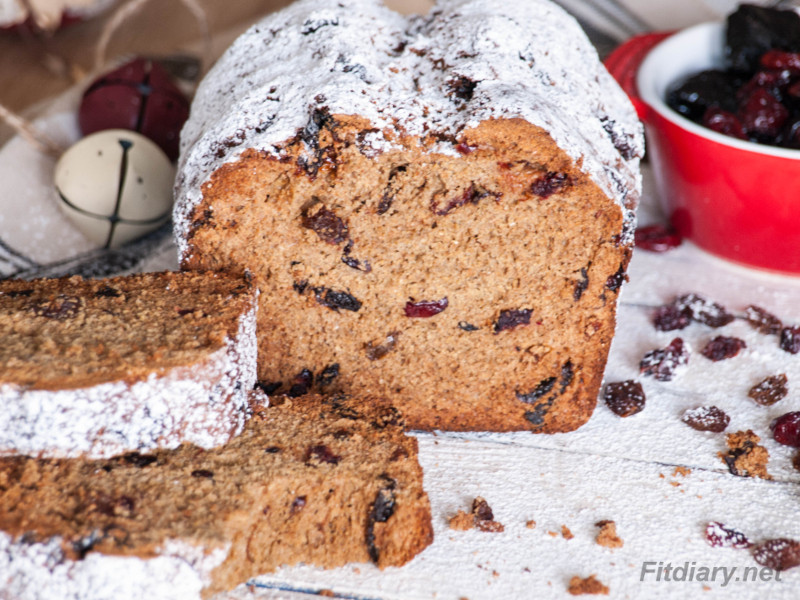 Healthy Winter Loaf Cake - excellent old-fashioned holiday treat