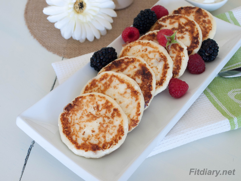 Low Carb Cottage Cheese Pancakes