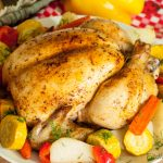 One Pot Roast Chicken and Vegetables – healthy dinner for whole family