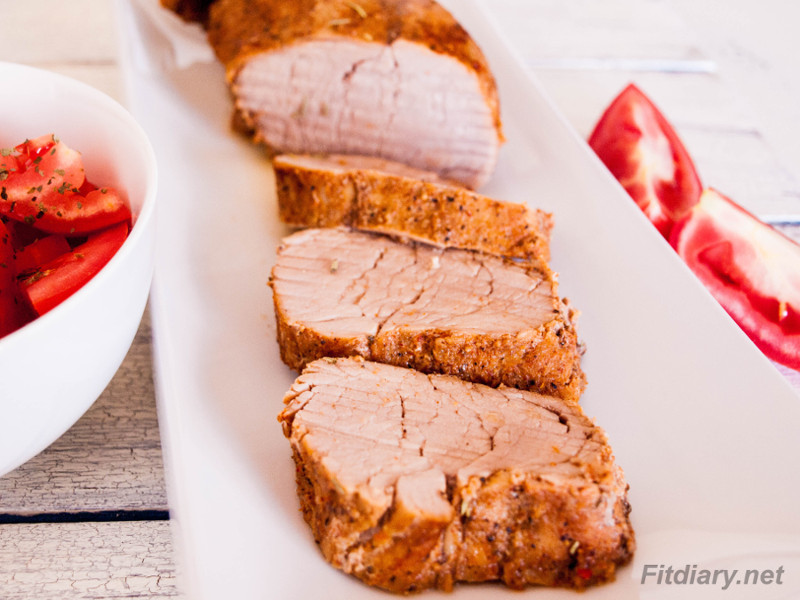 Roasted Pork Tenderloin – delicious and easy dinner ready in 30 minutes