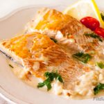 Salmon in Creamy Sauce – elegant healthy dinner