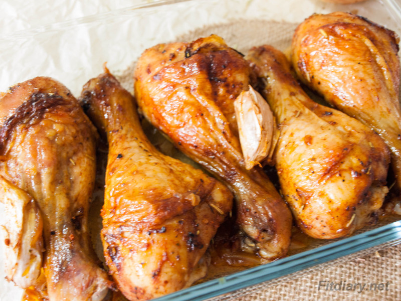 Easy Baked Chicken Drumsticks