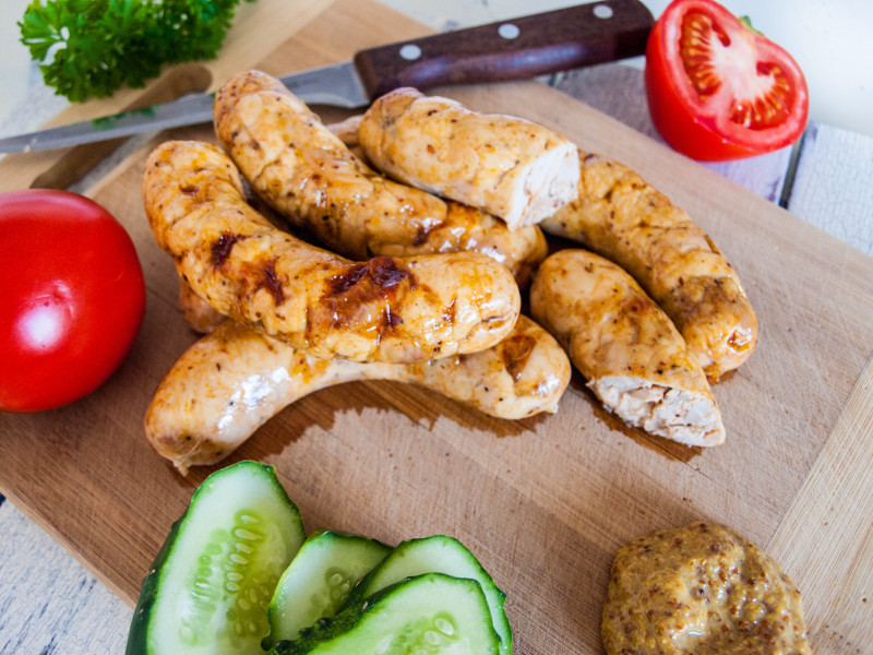 Homemade Chicken Sausages – excellent choice for a healthy diet
