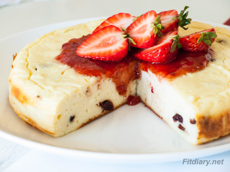 Cottage Cheesecake – The only high protein sugar-free dessert
