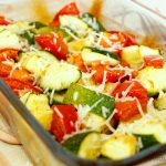 Zucchini and Tomato Casserole – light and exciting side dish