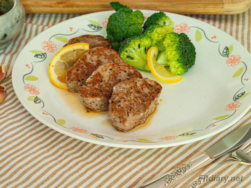 Pork Tenderloin Medallions – easy and healthy dinner