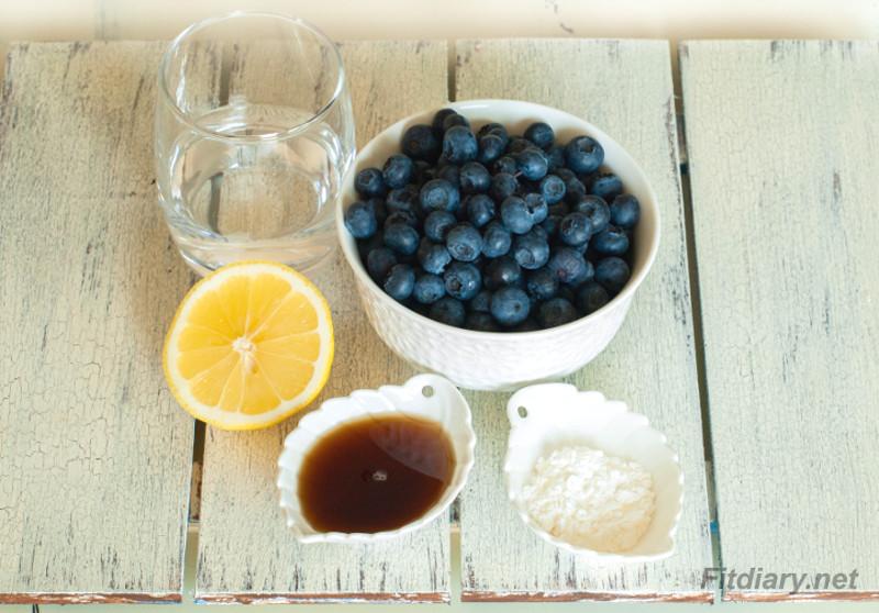 Blueberry Sauce – easy homemade healthy sauce
