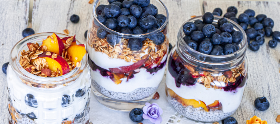 Greek Yogurt Chia Parfait – healthy and nutritious treat