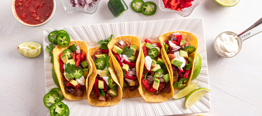 Ground Beef Tacos – healthier option of your favourite tacos