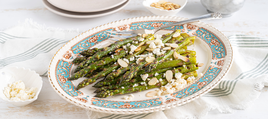 Grilled Asparagus - healthy side dish for summer and weeknight family dinners
