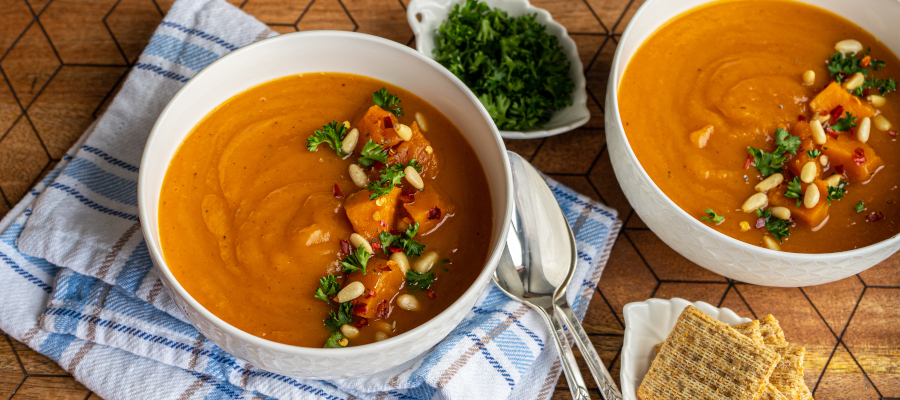 Instant Pot Sweet Potato Soup – comforting and healthy soup for any season