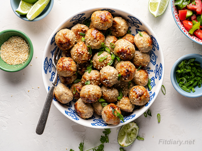 Baked Pork Meatballs – healthy and quick to make