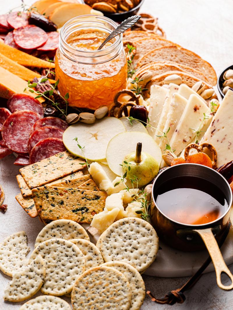 Simple Cheese Board – easy appetizer idea