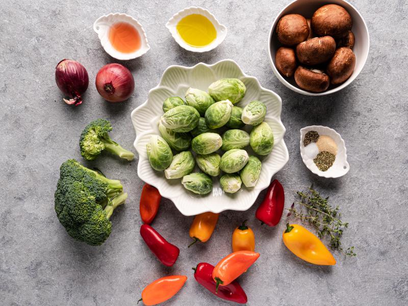 Roasted Vegetables – easy sheet pan side dish