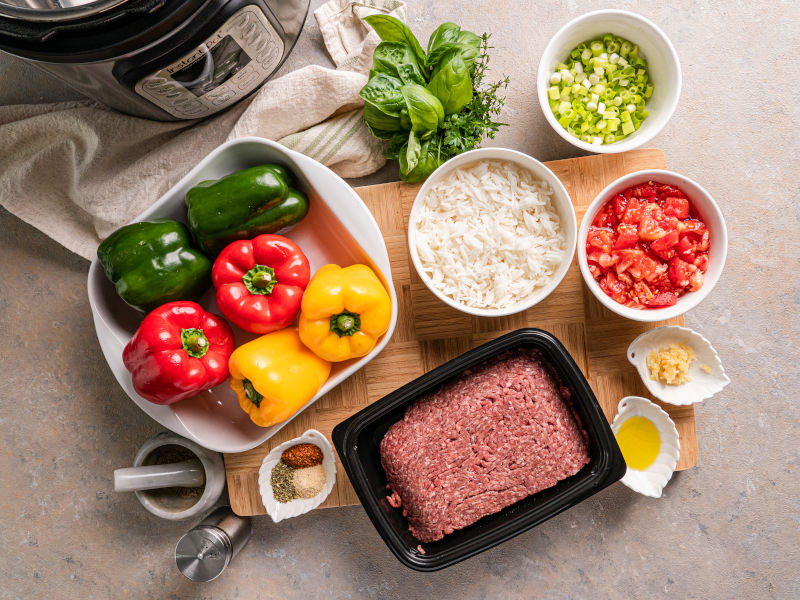Stuffed Bell Peppers – 30-min Instant Pot Recipe