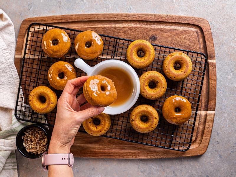 Pumpkin Donuts – healthy sugar-free goodies
